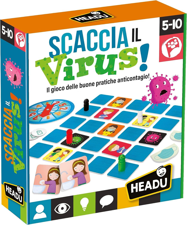Headu Descaza el Virus, IT23721: Amazon.es: Juguetes y juegos