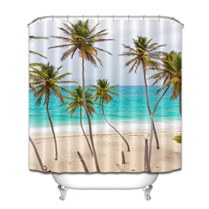 Image Unavailable Not Available For Color LB Ocean Scene Shower Curtain