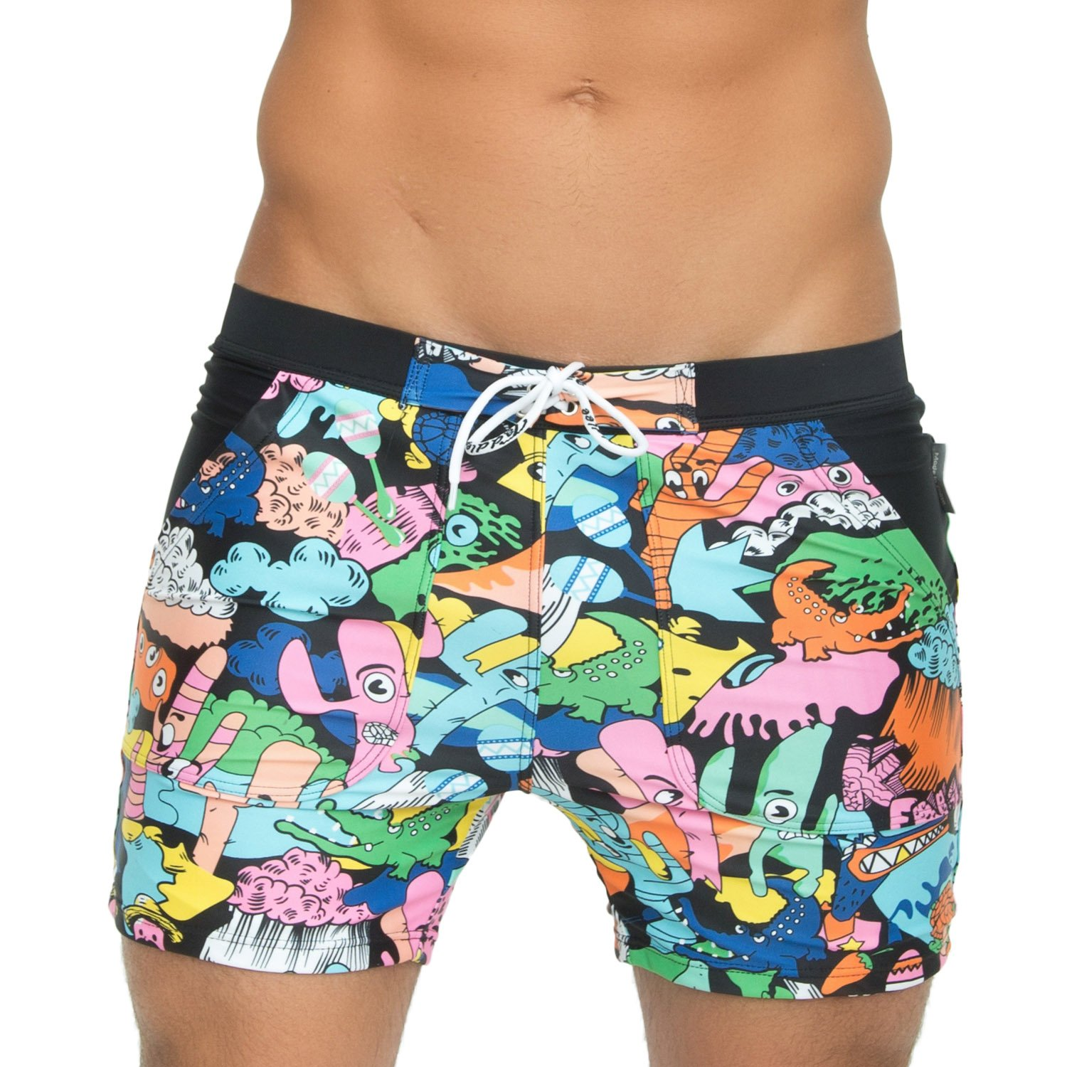 7b98928fd0 Taddlee Sexy Men Swimwear Big Tall Basic Long Swim Trunks Surf Shorts  Swimsuits The size is Europe,one size smaller than US,please read size chat  before ...