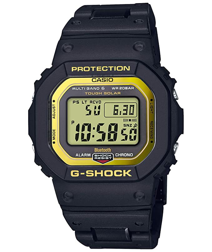 Casio G-Shock GW-B5600BC-1JF Bluetooth G-Shock Connected Solar Radio Watch (Japan Domestic Genuine Products)