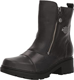 fef1e5729e90 Harley-Davidson Women s Amherst 5.5-Inch Leather Motorcycle Boots D84236  D84237