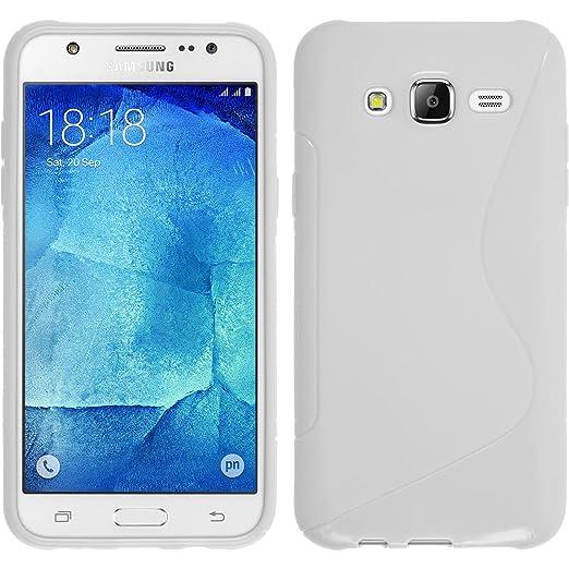 115 opinioni per PhoneNatic Custodia Samsung Galaxy J5 (2015- J500) Cover bianco S-Style Galaxy