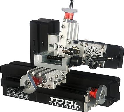 Horizontal Milling Machine >> Amazon Com Electroplated Mini Metal Horizontal Milling