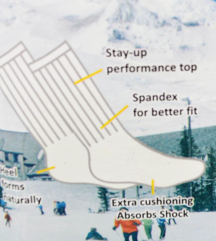 Rodex 3 pares térmico Gear calcetines para senderismo cálido invierno Mens tamaño 10 - 15 colores puede variar: Amazon.es: Informática