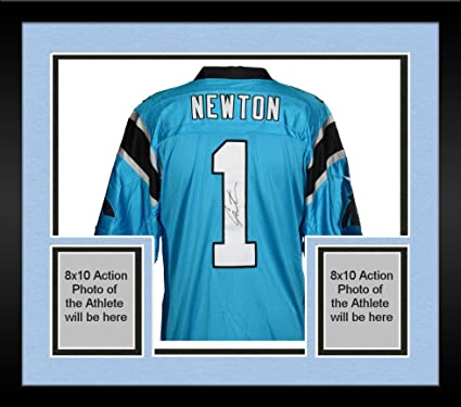 the best attitude dd3a7 53318 Framed Cam Newton Carolina Panthers Autographed Nike Limited ...