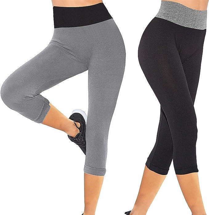 SHEKINI Leggings Yoga Mujer Pantalones Piratas Mujer Deporte ...