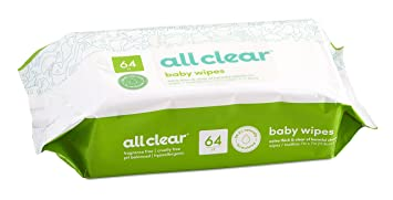 All Clear 512 Baby Wipes Club Pack