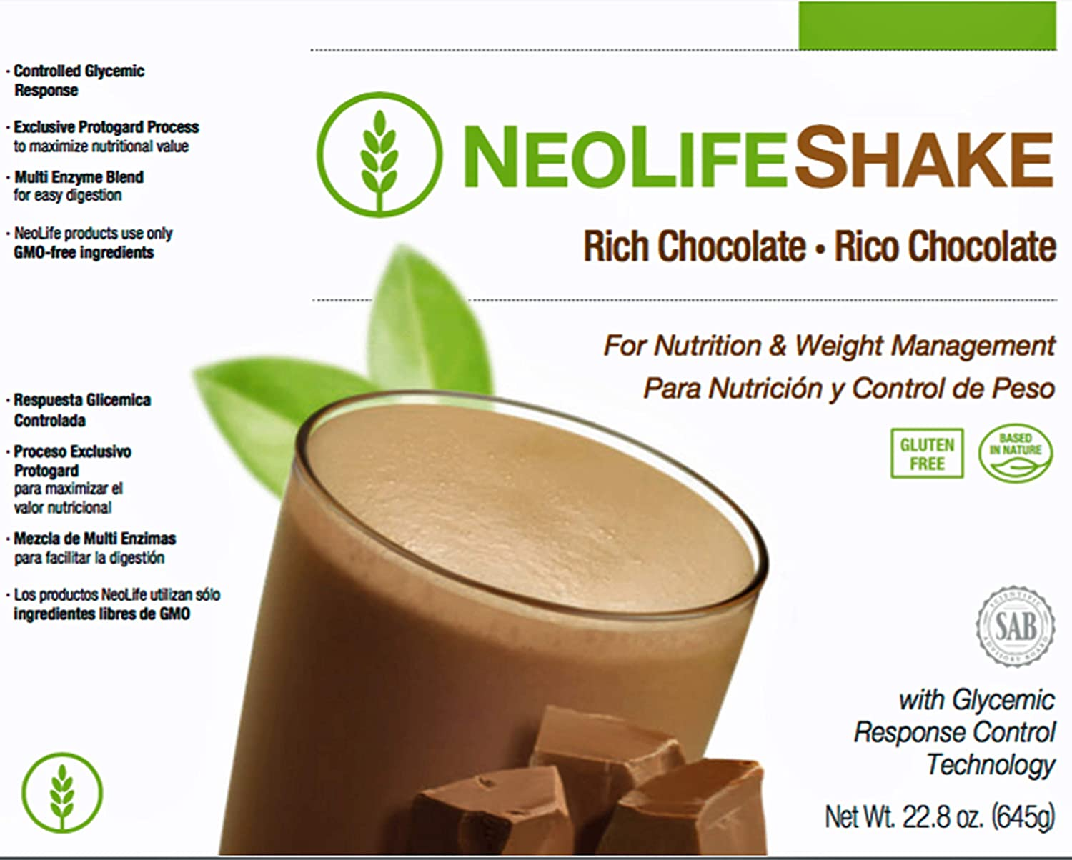 Amazon.com: neolife agitar nuestra deliciosa y conveniente ...