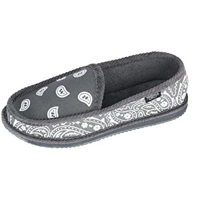 03b87647b70b Trooper America Men s Bandana Print Slip On Slipper Shoe