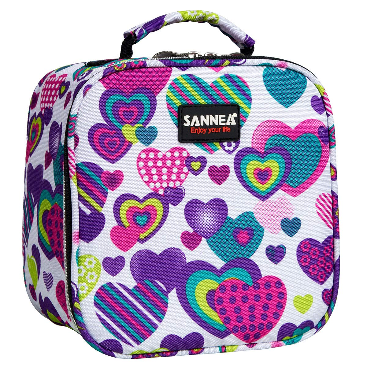 Kids Lunch Bag Insulted Lunch Box Tote Reusable Thermal Lunch Kit for School,Work and Travel Easy to Clean, 4L, Age 6+, Perfect for Kids or On-The-Go Parents