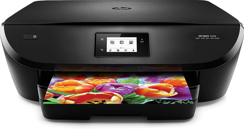 Amazon.com: HP Envy 5549 - Impresora de fotos todo en uno ...