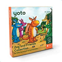 Yoto Zog and Friends Collection by Julia Donaldson – Kids Audio Story Cards for Yoto Player Children's Speaker…