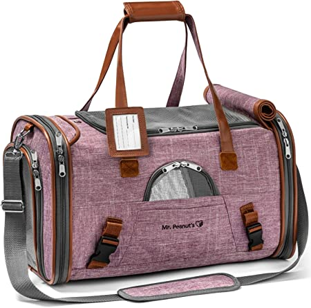 Mr. Peanut's Airline Approved Soft Sided Pet Carrier