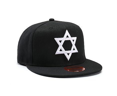 NUEVA Gorra de baseball judía estrella de David Snapback