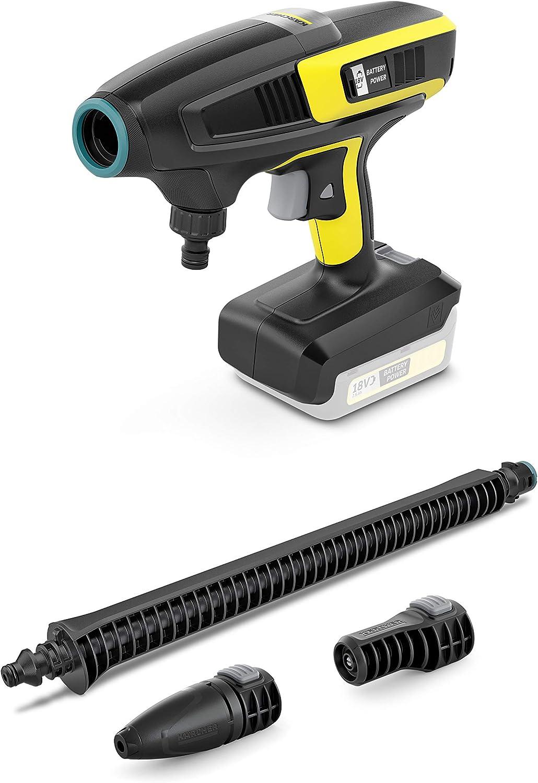 sin bater/ía extra/íble K/ärcher 1.328-010.0 color negro y amarillo Pistola de limpieza inal/ámbrica KHB 6