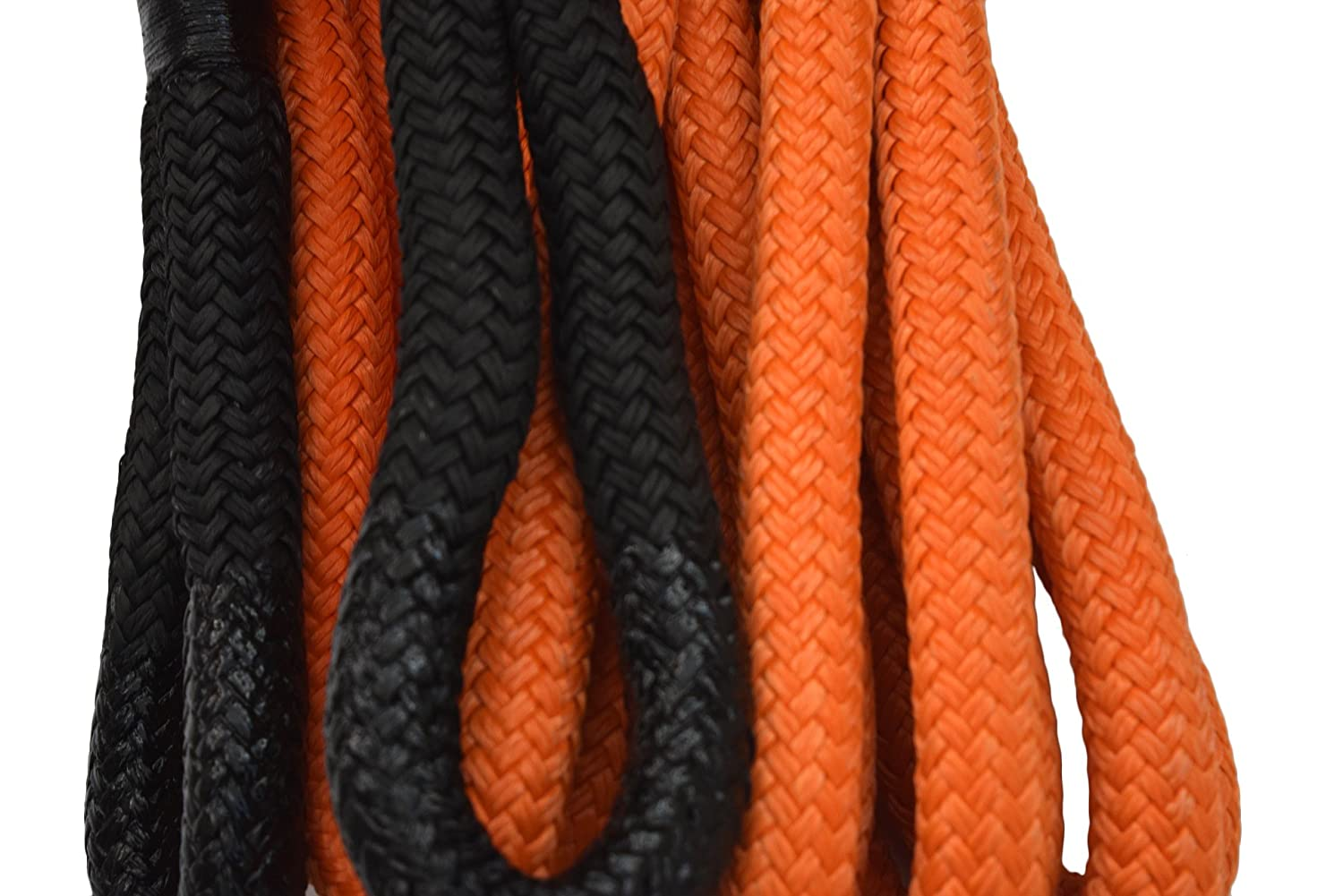 1 Dia Kinetic Energy Rope,Recovery Rope,Kinetic Rope Heavy Duty Vehicle Tow Strap Rope for Truck ATV UTV SUV 1/×20ft, Orange