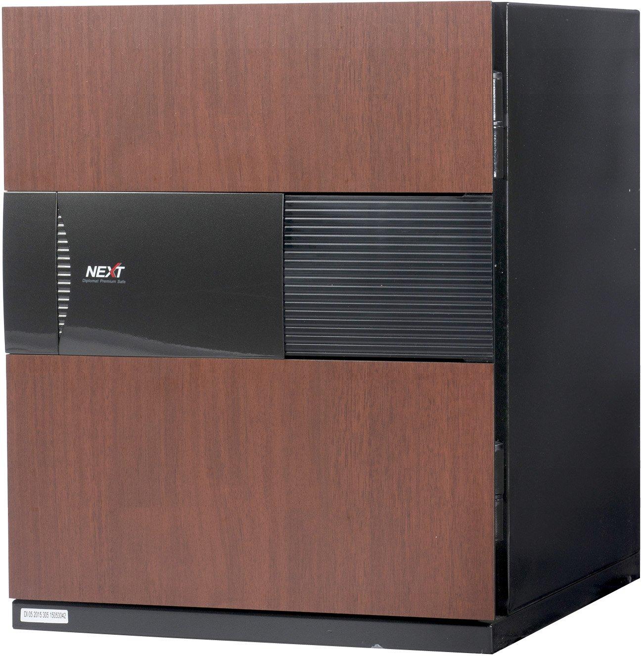 Phoenix NEXT Digital Lock Luxury Fireproof Safe with Cherry Door 2.28 cu ft