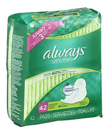 Always Ultra Thin Pads Jumbo