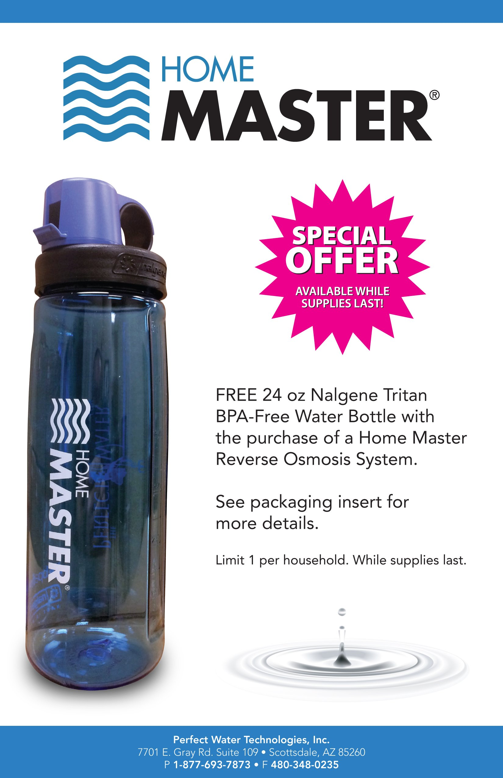 Home Master TMHP HydroPerfection Undersink Reverse Osmosis Water Filter System by Home Master (Image #4)