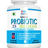 Pronutrition Advanced Probiotics 25 Billion Per Capsule, 14 Probiotic Strains, 90 Veggie Capsules