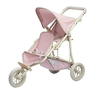 """Olivia's Little World 16"""" Baby Doll Twin Stroller 