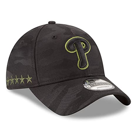 Amazon.com  New Era Authentic Philadelphia Phillies Memorial Day 9TWENTY  Adjustable Hat - Black Camo  Sports   Outdoors 1681a9981553