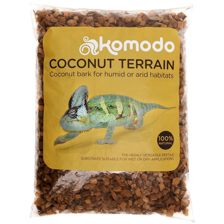 Happy Pet Products - Komodo - Substrato in corteccia di cocco per terrario - 6 Litri UTVP4702_1