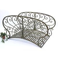 DanDiBo Pont en métal JC150106 Pont de jardin 150 cm pont en métal Pont d'étang Passerelle