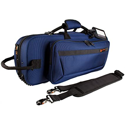 aaf991597a5 Amazon.com: Protec Trumpet Contoured PRO PAC Case, Blue, Model PB301CTBX:  Musical Instruments