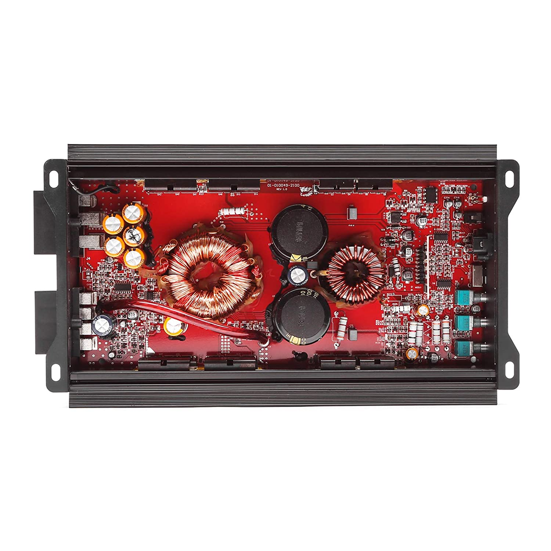 1500W Skar Audio RP-1500.1D Monoblock Class D MOSFET Amplifier with Remote Subwoofer Level Control