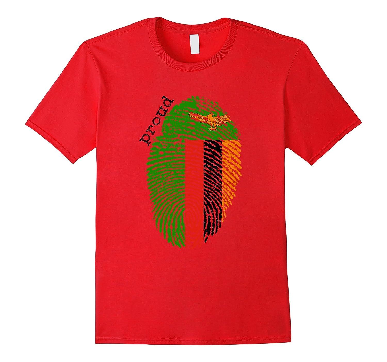 Zambia Flag Shirt-TD