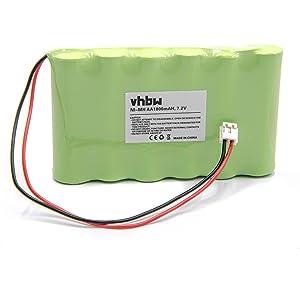 vhbw Batería NiMH 1800mAh (7.2V) para estimulador muscular ...