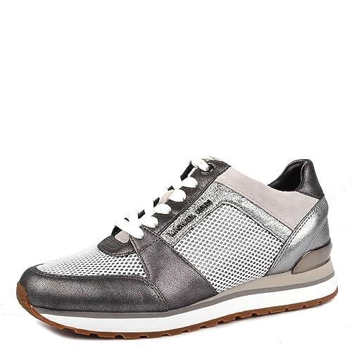 MICHAEL by Michael Kors Zapatos Bille Zapatillas Gunmetal Mujer Gunmetal 36.5: Amazon.es: Zapatos y complementos