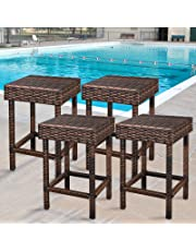 Amazon Com Stools Amp Bar Chairs Patio Lawn Amp Garden