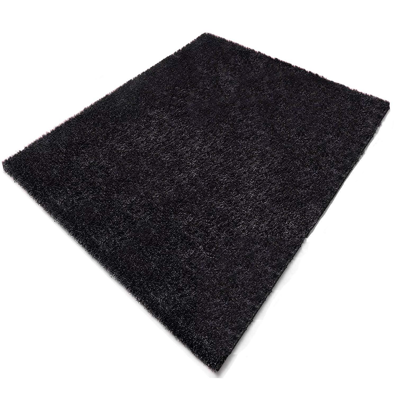 Floordirekt Shaggy-Teppich   Denver   Schwarz   In vielen Größen (70 x 250)
