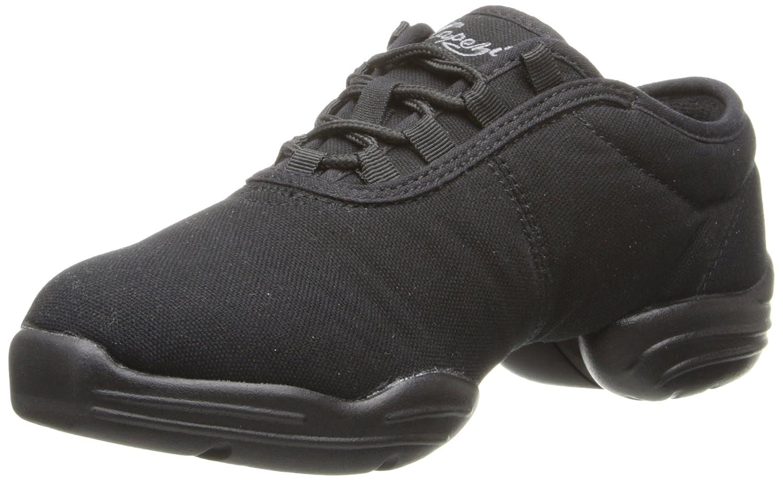 Capezio Canvas Dance Sneaker B002CMMBJW 7.5 M US|Black