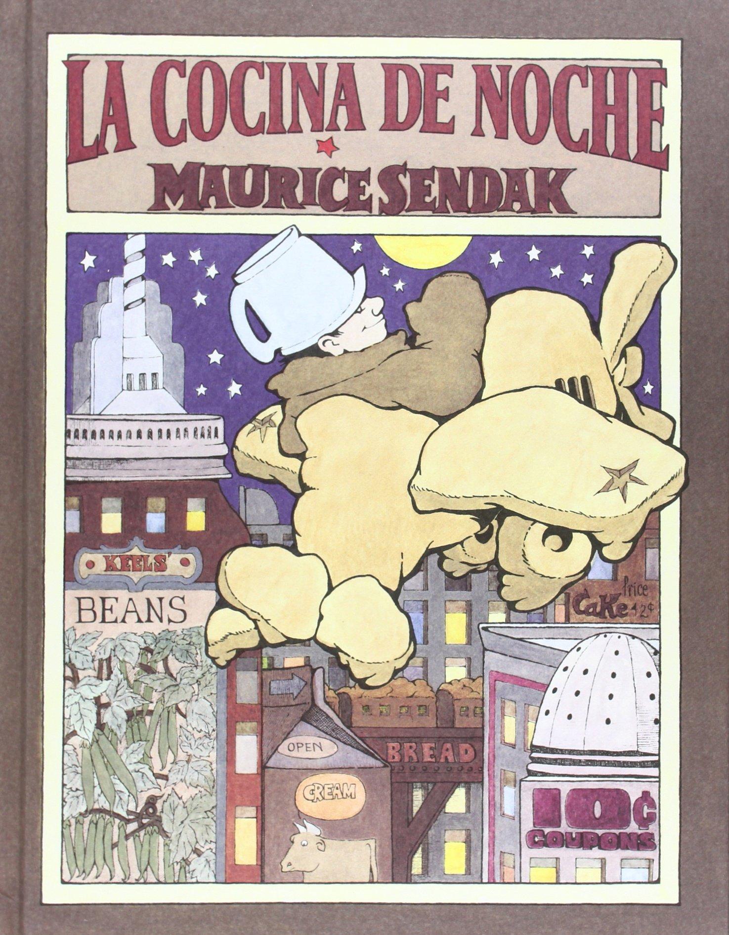 La cocina de noche (libros para soñar): Amazon.es: Sendak, Maurice ...