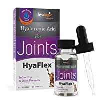 Cat Joint Supplement, Hyalogic Hyaluronic Acid Cat Supplements– 30-60 Day Supply...