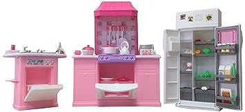 barbie size dollhouse furniture kitchen set - Kitchen Set Furniture