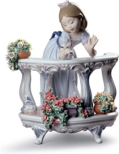 LLADR Morning Song Girl Figurine. Special Edition. Porcelain Girl Figure.