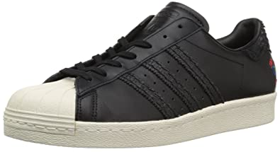 premium selection d80f1 596d7 adidas Originals Men s Superstar 80s CNY Running Shoe CBLACK,CWHITE, 9  Medium US