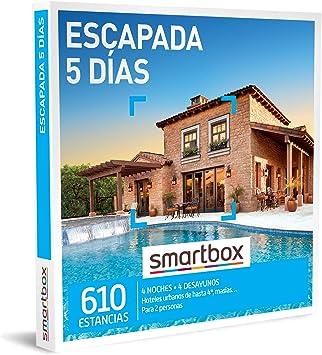 SMARTBOX - Caja Regalo - Escapada 5 días - Idea de Regalo - 4 Noches con Desayuno para 2 Personas: Amazon.es: Deportes y aire libre