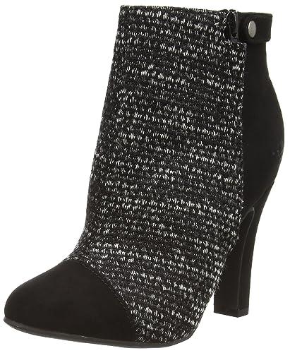Rocket Dog Jolita, Women's Ankle Boots, Black (Black Knit WIT/Coast)