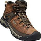 KEEN Shoes Men's Targhee III Mid WP Shoes, Big Ben and Golden Brown