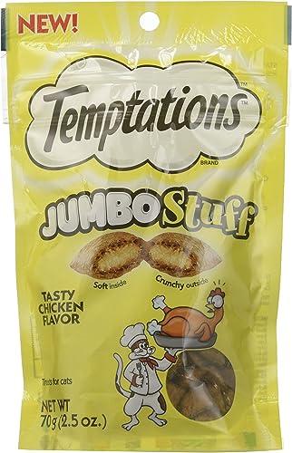 Temptations WHISKAS Jumbo Stuff Cat Treat – Tasty Chicken