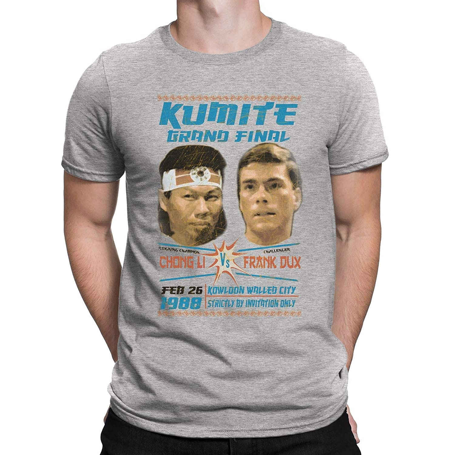 Misc. Kumite Grand Final Mens Movie Inspired t shirt