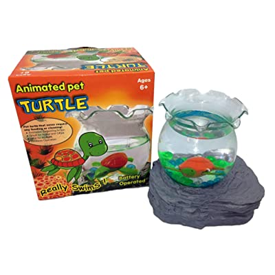 Cute Pet Turtle, Aquarium Bowl: Toys & Games [5Bkhe1201069]