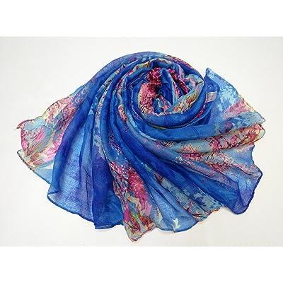 Foulard Foulard WY-d été Fashion Foulard bib tourisme climatisation foulards  châles ombre soleil décoration rétro protection de personnes fd5beb8d336