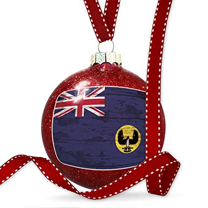 Amazon Com Neonblond Christmas Decoration Flag On Wood South