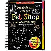 Pet Shop Scratch and Sketch Trace-Along